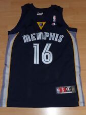 Memphis Grizzlies Pau Gasol 16 NBA AUTHENTIC Basketball Trikot S Jersey Champion