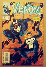 VENOM FUNERAL PYRE #1 PUNISHER HOLOFOIL COVER MARVEL COMICS (1993)