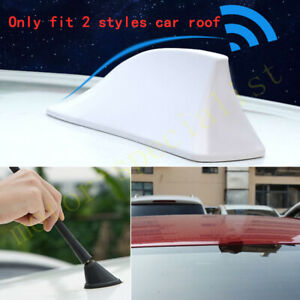 White Roof Shark Fin Antenna Radio For Volkswagen Golf 1992-2006 2005 2004 2003
