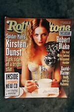 Rolling Stone Magazine - Kirsten Dunst #896 May 23, 2002