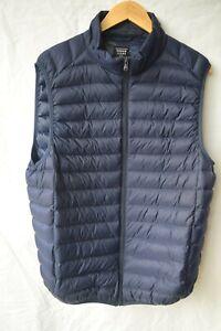 Urban Jeans Co. down / puffer vest...dark blue...size XL