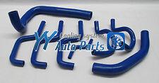 HOLDEN COMMODORE VL 3.0L V6 86 87 88 Silicone Radiator Heater Hose Kit Blue