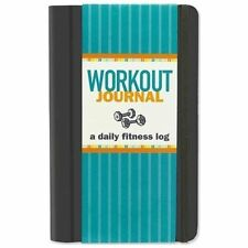 WORKOUT JOURNAL Daily Fitness Log book NEW health dieting diet exercise diary