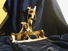 Vintage Ice Skates German Clamp On Pollux D.S.S. Size 28