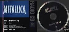 "Metallica ""Hero of the Day"" RADIO PROMO CD"