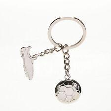Football Soccer Boots Metal Keychain Key Ring Keyfob Creative Key Chain *