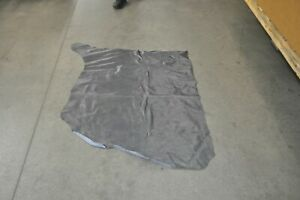 Gray Leather Hide Upholstery Half Cow Hide 25 Square Feet Stunning #842