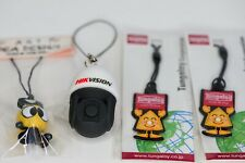 Set of 4 Assorted Mobile or Smart Phone Charms Imported from Thailand Kids Gifts