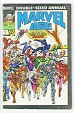 Marvel Age Annual #1 (1985) Marvel Comics - Stan Lee Spider-Man Avengers X-Men