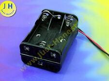 Batterie Support BATTERY HOLDER 6 x aaa (r3) Aku Battery Socle/Socket #a1774