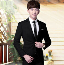 New Fashion 3PCS Slim Fit Men Groom Suit  Formal Groomsmen Career Wedding suits