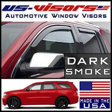 US-Visors Window Vent Visors Guards In-Channel fit 2011-2020 Dodge Durango