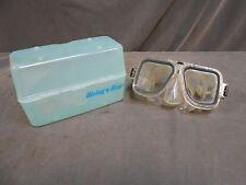 Vintage Diving Star Brand Tempered Glass Scuba Snorkel Dive Mask