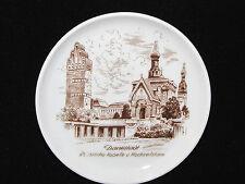 KAISER Miniature PLATE Darmstadt Russische Kapelle u Hochzeitsturm CHAPELS Ger