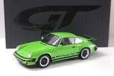 1:18 GT Spirit Porsche 911 Carrera 3.2 Coupe green NEW bei PREMIUM-MODELCARS