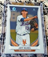 JEFF MCNEIL 2014 Bowman Chrome 1st Rookie Card RC HOT New York Mets Invest Now $