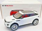GT Autos 1/18 Scale 2011 Range Rover Evoque White With Red Interior
