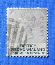 1888 BRITISH BECHUANALAND 1d SCOTT# 11 S.G.# 10 USED                     CS20507