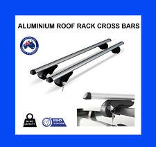 Aluminium Roof Rack Cross Bars For Vehicles Fitted With Raised Roof Rails (0002)