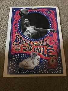 Vintage DR. J CONVERSE CHUCK TAYLOR ALL-STAR Shoes Poster Print Ad JULIUS ERVING
