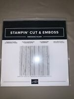 Stampin Up Pinewood Planks embossing folder