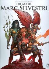 ART OF MARC SILVESTRI DLX ED HC Witchblade Darkness Wolverine X-Men TOP COW New