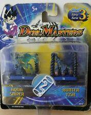 Duel master aqua sniper Hunter fiscale hasbro serie 3 68135 nuovo action figure