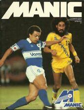 1981 Montreal Manic vs. Vancouver Whitecaps NASL Soccer Program - Impact #FWIL