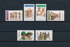 Nauru 244-9 MNH, Scouts 1982