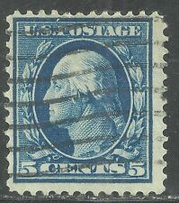 U.S. Postage stamp scott 378 - 5 cent Washington issue of 1911