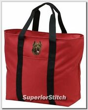 Cane Corso embroidered tote bag Any Color