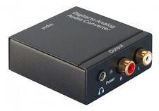 Dynavox mini-DAC Digital/Analog-Wandler 192KHz/24Bit SPDIF Toslink Coax Netzteil
