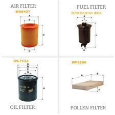 WIX DE AIRE Y DE POLEN ACEITE Y COMBUSTIBLE Kit Servicio De Filtro WA9437,WP9206