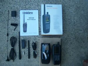 Uniden SDS100 P25 Phase 2 Digital Trunking Scanner w/ extras