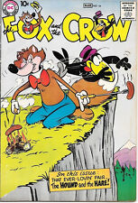 the Fox and the Crow Comic Book #54, DC Comics 1959 FINE