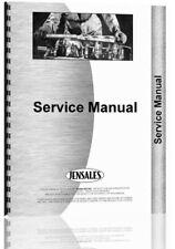 Service Manual International Harvester Crawler Hydraulic Pump Supplement
