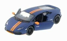 New Kinsmart Lamborghini Huracan LP610-4 AVIO Diecast Model Toy Car 1:36 Blue
