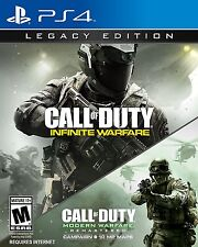 NEUF CALL OF DUTY : Infinite GUERRE LEGACY édition (Sony Playstation 4, 2016)