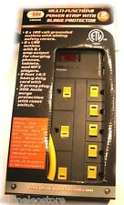 Multi-Fuctions 8 Outlet & 2 USB Power Strip