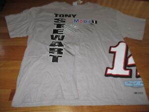 TONY STEWART No. 20 MOBIL 1 Stewart - Haas Racing (3XL) T-Shirt w/ Tags