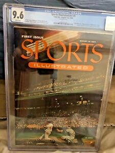Sports illustrated 1954 CGC 9.6  #1 *KEY ISSUE * Mint  AWESOME GIFT