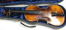 Antique Karl Hofner Stradivarius Copy Violin W/Bow & Case 4/4
