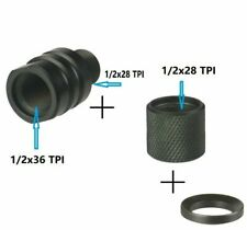 "Adapter Convert 1/2''x36 1/2""-36 Tpi to1/2''x28+1/2& #039;'-28 Tpi Thread Protector"