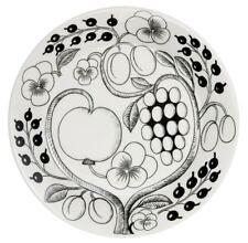 Iittala Paratiisi Black Dinner Plate Design Birger Kaipiainen Arabia Finland NEW