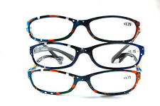 UV 0558 Lady Reading Glass Color Frame +175 3 for 1 price