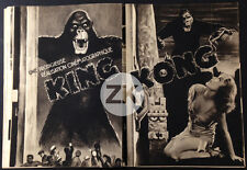 KING KONG Schoedsack PUBLICITE Wray LE MARIGNAN E. Bruyneel CINE-MAGZINE 1933