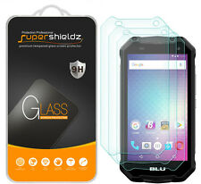 "3X Supershieldz BLU Tank Xtreme 5.0"" Tempered Glass Screen Protector Saver"
