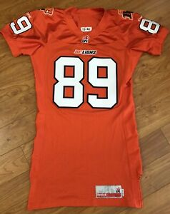 Authentic Team Issue Reebok BC Lions Jersey CFL Football Practice