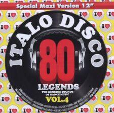 Various - I Love Italo Disco Legends Vol.4 CD Blanco Y Negro NEU