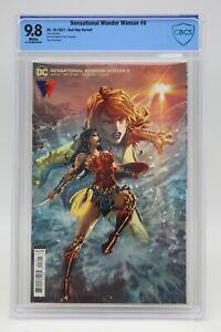 Sensational Wonder Woman (2021) #6 Kael Ngu Variant CBCS 9.8 Blue Lbl White Pgs